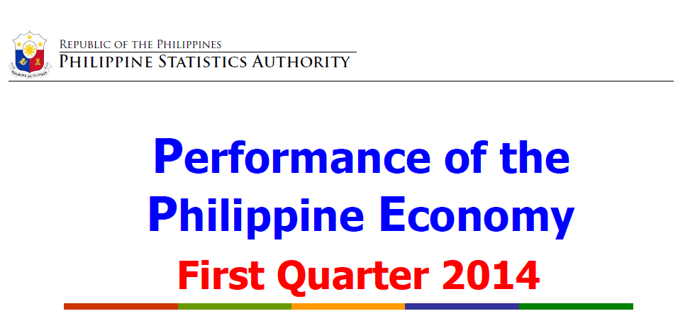 philippines statistics authority gdp 2014
