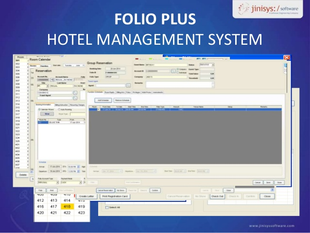 Folio Plus Hotel Management System Free Demo Amp Consultation